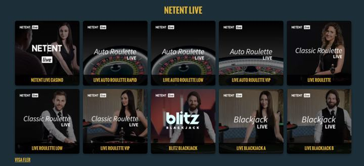 Noaccount Casino - Live